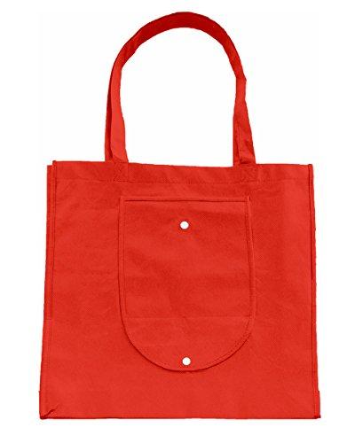 Bags By Jassz, Borsa a spalla donna Red