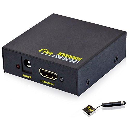 Leicke KN39750 Kanaan HDMI Kabel Splitter Verteiler Y Adapter Full HD 1.3