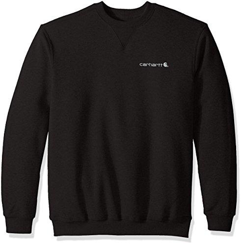Carhartt Pullover mit Brustlogo, Größe:L, Farbe:schwarz