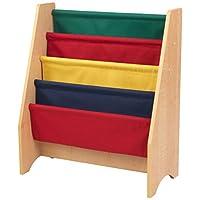 KidKraft Sling bookshelf -  Primary & Natural