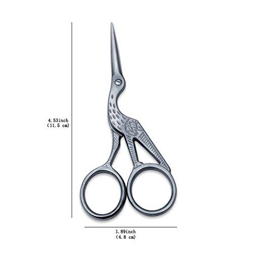 ETGtek(TM) Ricamo Craft Croce cucire maglieria Forbici modello 4.5