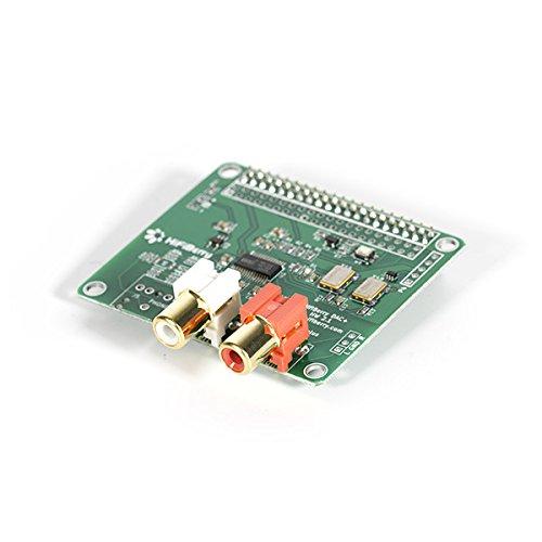 HiFiBerry DAC+ Pro - High End Soundkarte für Raspberry Pi 2 Modell B / B+ / A+ mit Cinch Anschlüssen