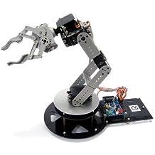 GOWE aluminio AS-6DOF Brazo robótico (incluyendo el control eléctrico Parte)