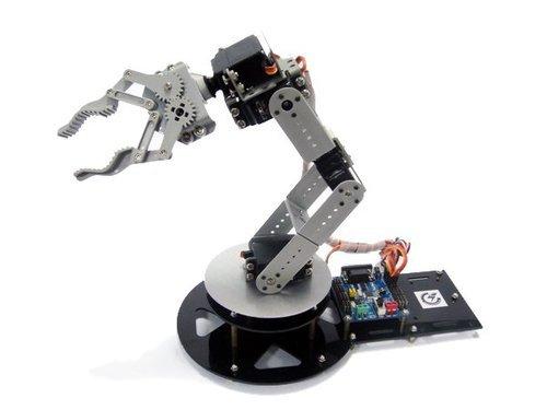 GOWE come-Braccio robot 6DOF alluminio (comprese le parti), di comando elettrica