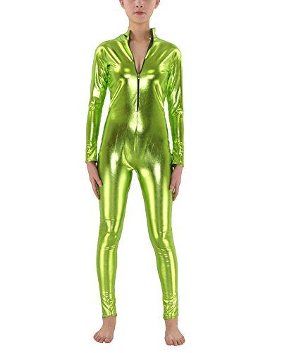 Ganzkörperanzug Halloween Kostüme Gras Grün M (Spaß Und Einfache Halloween-kostüm Ideen)