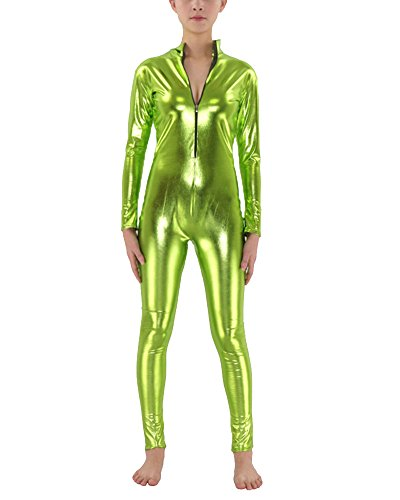 Second Skin Kostüm Ganzkörperanzug Halloween Kostüme Gras Grün (Kostüm Männer Einfache Ideen)
