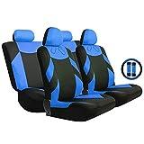 Housses de sièges de voiture compatibles avec la plupart des modèles de voitures