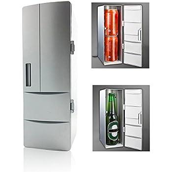 USB Kühlschrank,Portable Mini Getränke Getränk Dosen Kühler / Wärmer ...