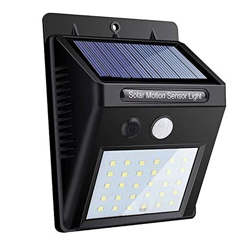 TOOGOO Solar Garten Licht 30 Led Solar Licht Bewegungs Sensor Wasserdichte Au?en Beleuchtung Wand Leuchte (Wasserdicht Bewegungs-sensor-licht)