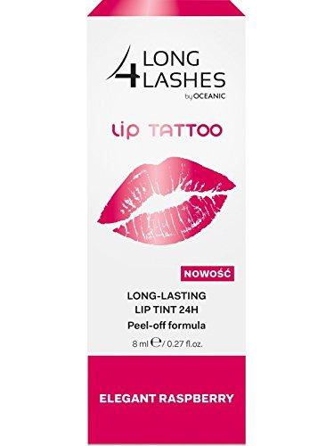LONG4LASHES LIP TATTOO Permanent Lippen Makeup, 24H, Raspberry 8ml (Lip Tattoos Kostenloser Versand)