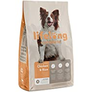 Amazon Brand - Lifelong - Complete Dry Dog (ADULT) Food Rich in Chicken & Rice, 1 Pack of 15 kg