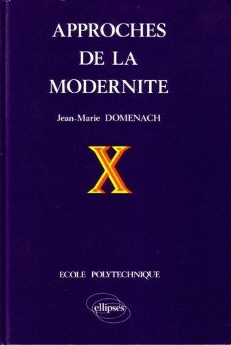 Approches de la modernité