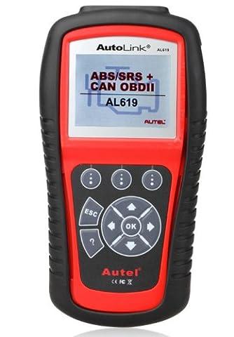 Autel original AL619 Auto Link OBDII / CAN outil d