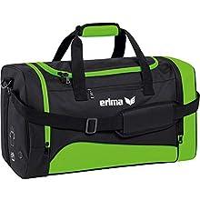 erima Club 1900 2.0 Sporttasche, Green Gecko/Sch, L