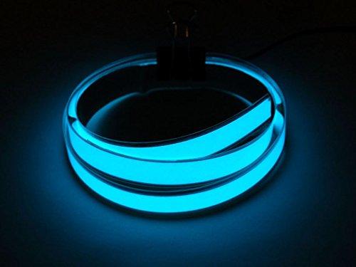 Adafruit Aqua Electroluminescent (EL) Tape Strip - 100cm w/two connectors [ADA415] -