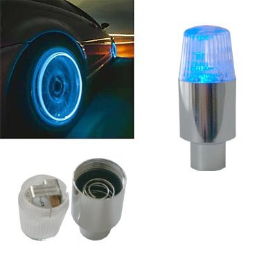 RuiChy Super Bright Blue Flashing LED Tire Light (2-pack)