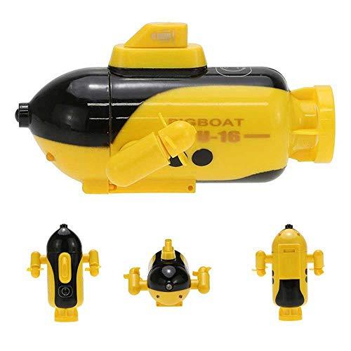 Ceepko Ferngesteuertes Boot Mini, RC Unterseeboot Für Kinder, Wiederaufladbar wasserdichte Led-Licht Beleuchten Elektrische Spielzeuge Geschenk