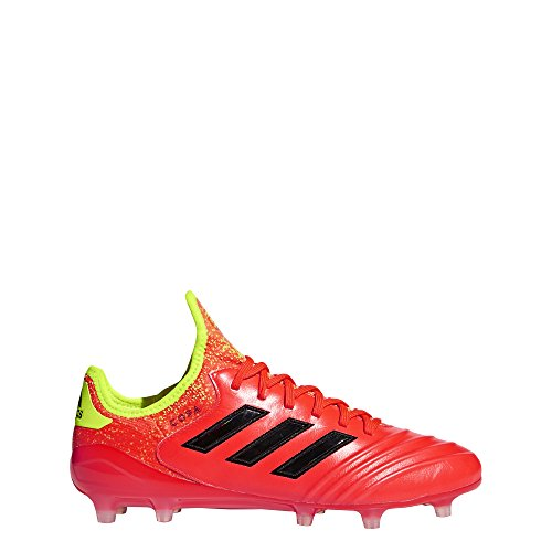 adidas Copa 18.1 FG Cleat Men's Soccer 8 Solar Red-Core Black-Yellow -
