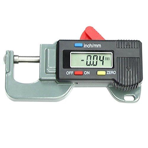 Tragbare präzises digitales Dickenmessgerät Messinstrument -Prüfvorrichtung-Mikrometer 0 bis 12.7mm Caliper