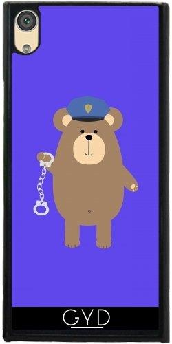 DesignedByIndependentArtists Hülle für Sony Xperia XA1 - Polizei Tragen Mit by Ilovecotton