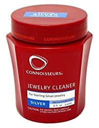 Connoisseurs Jewelry Cleaner Silver 8oz by Connoisseurs