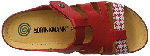 Dr. Brinkmann 701042, Mules Femme Rouge