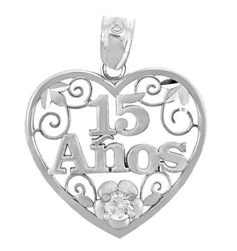 piccoli-tesori-collanae-pendente-925-collanae-pendente-argento-doux-15-ans-cuore-con-ossidi-de-zirco