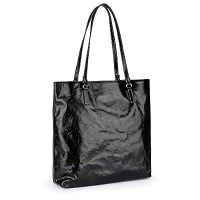 Tous Shopping L. Tulia Crack Negro, Shopper para Mujer, 34x33x13 cm (W x H x L) de Tous