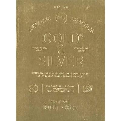 Gold & silver : Metallic Graphics n°3