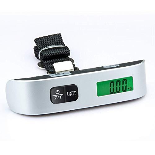 Capacidad: 50g-50kg, Tipo: Escala colgante  Precisión: 10g, Número de modelo: Escala de equipaje  Tipo de pantalla: LCD  Fuente de alimentación: 1 x pila de litio de 3 V (CR2032) Batería (la batería es no incluido)  Tamaño: 130 x 30 mm, Carga nominal...