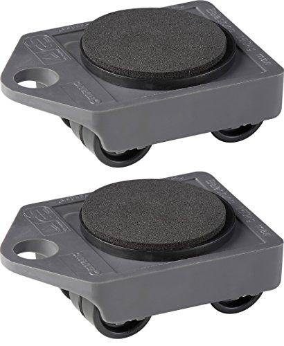 Möbel Transportroller Set Möbelroller Lastenroller rollplatte (2x Roller)