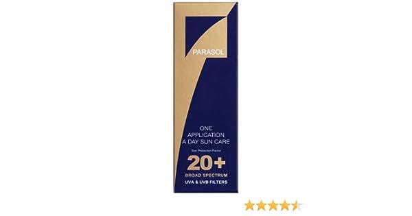 1a1ed32525f Parasol Sun Filter Suntan Lotion Spf20+ (200ml)  Amazon.co.uk  Beauty