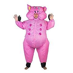 Idea Regalo - Costume gonfiabile da Maiale, per adulti