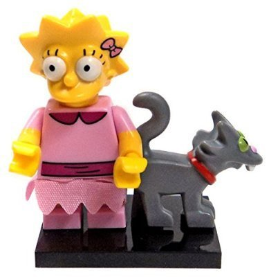 LEGO The Simpsons Series 2 Collectible Minifigure 71009 - Lisa Simpson (Snowball II Cat) by LEGO 1