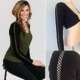 Yogogo Lingerie Sexy Accessoire,Nouveau Plus la Taille sans Couture Bras Shaper Long Cardigan en Maille Nombril Chaud Chaud