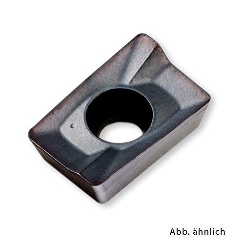 10 Stück Wendeplatten Fräsplatten zum Eckfräsen für Aluminium APKT1003PDSR-DM-CP525 passend für APKT 1003 Fräser