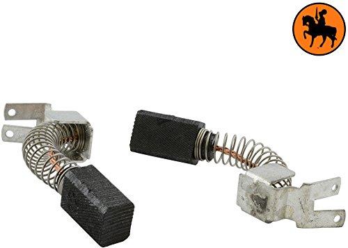 Kohlebürsten für METABO SBE620/2S R+L Bohrmaschine -- 6,3x8x12mm -- 2.4x3.1x4.7''