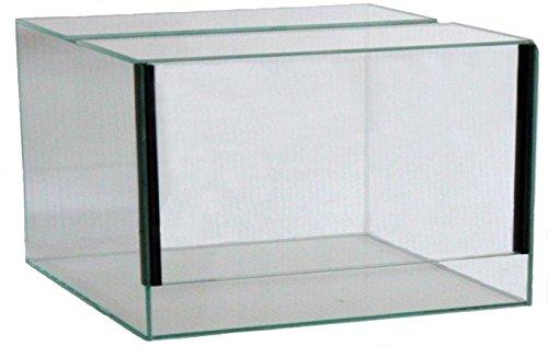FavoPet Terrarium mit Falltür (40x40x30 cm)
