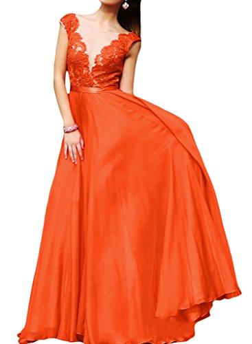 Missdressy -  Vestito  - linea ad a - Donna Orange