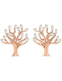 TBZ - The Original 18k Gold and Diamond Stud Earrings