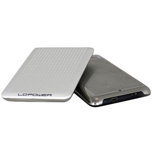 LC-Power Festplattengehäuse für (6,3 cm (2,5 Zoll), SATA USB2