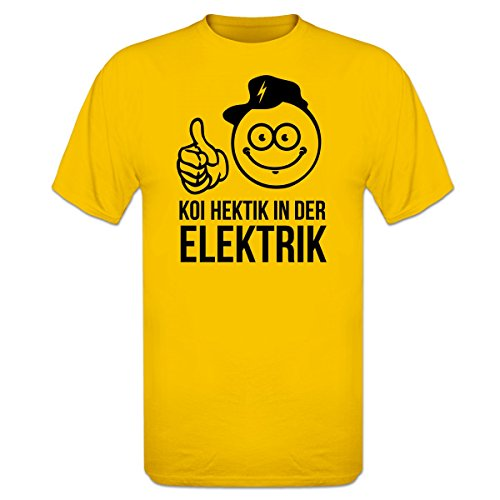 Koi Hektik in der Elektrik T-Shirt by Shirtcity