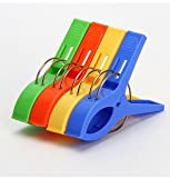 4Pcs Big Plastic Windproof Clothes hanging Peg Beddable Quilt Sheet Clip Racks Clip