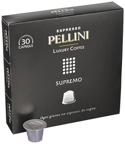 Confezione da 30 Capsule Pellini Luxury Coffee Supremo compatibili Nespresso