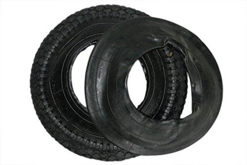 DKB Mantel + Schlauch 400 x 100 mm mm 4.80/4.00-8 Schubkarrenrad Luftrad