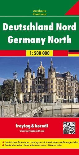 Deutschland Nord, Autokarte 1:500.000