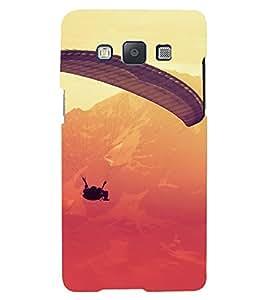 PrintVisa Sports Adventure Parasailing Design 3D Hard Polycarbonate Designer Back Case Cover for Samsung Galaxy E5