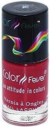 Color Fever Absolute Matt Nail Lacquer, Matt Claret, 8.5g
