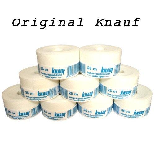knauf-10-rubans-adhesifs-pour-joints-en-fibre-de-verre-25-m-x-50-mm