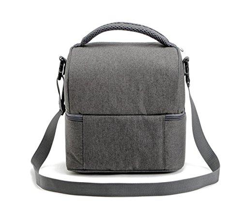 Outdoor Moda Spessa Facile Da Pulire Quadrato Picnic Bag,Grey Grey